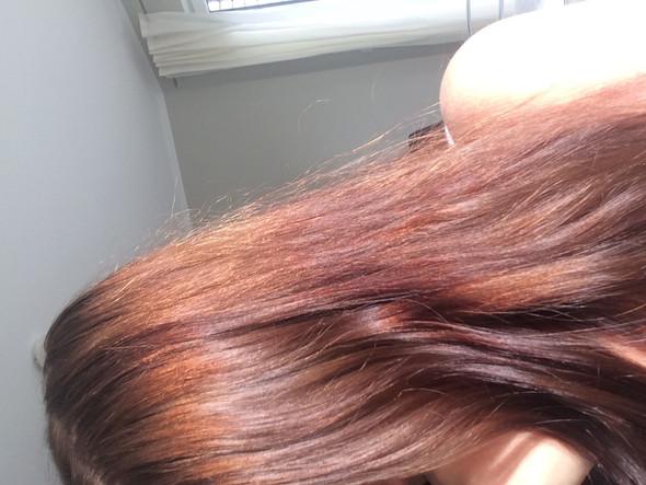 Ist in echt nicht so rötlich  - (Haare, färben)