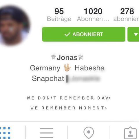Wie kriege ich die bio mittig in instagram iphone for Instagram foto ideen