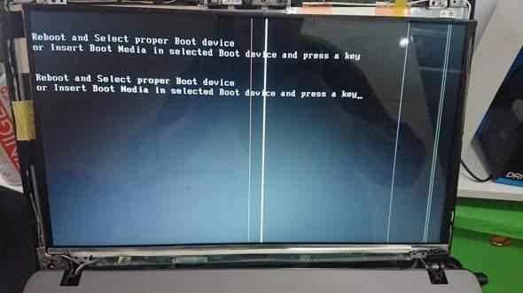 Wie kriege ich diese Streifen weg(Asus X500D)?
