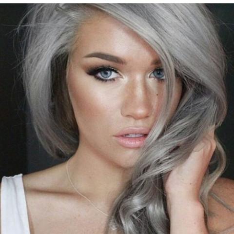 Wie Kriege Ich Grauesilberne Haare Hin Mädchen Style Friseur