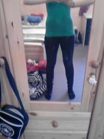 So sehe ich aus. - (abnehmen, Dünnere Beine)