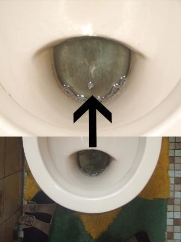 wie kriege ich meine toilette richtig sauber kalk verschmutzung reinigung. Black Bedroom Furniture Sets. Home Design Ideas