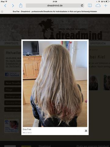 So ein Haar hab ich ungefähr! - (Haare, schön)