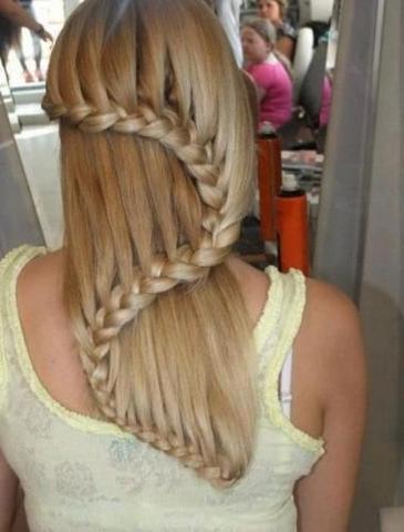 Wie Kriegt Mna Diese Frisur Hin Haare Flechten