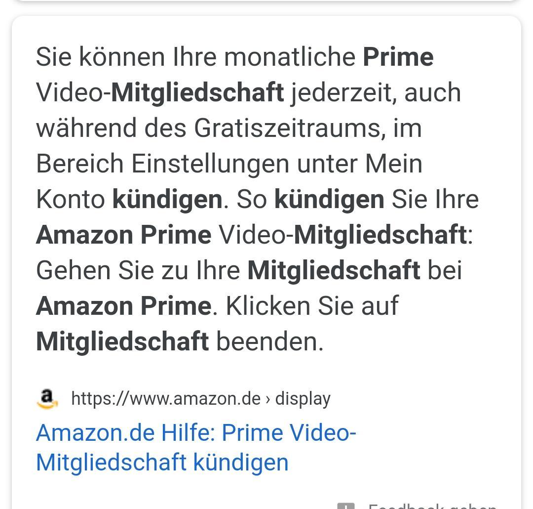 Wie Kündige Ich Amazon Prime