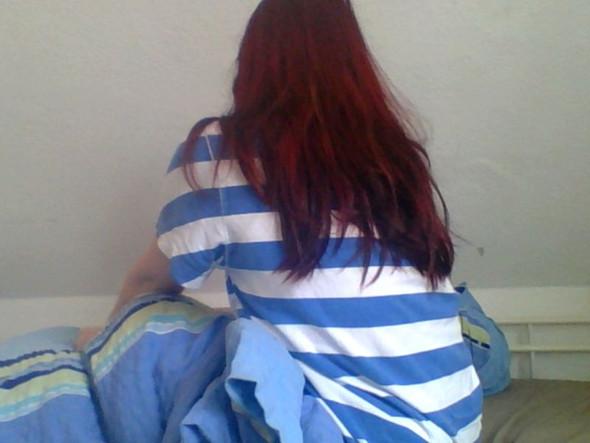 meine haare - (färben, Locken, Dauerwelle)