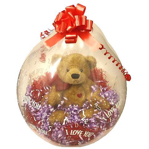 Hier ein Beispielbild für so einen Ballon.  - (Freizeit, luftballon, Plüschtier)