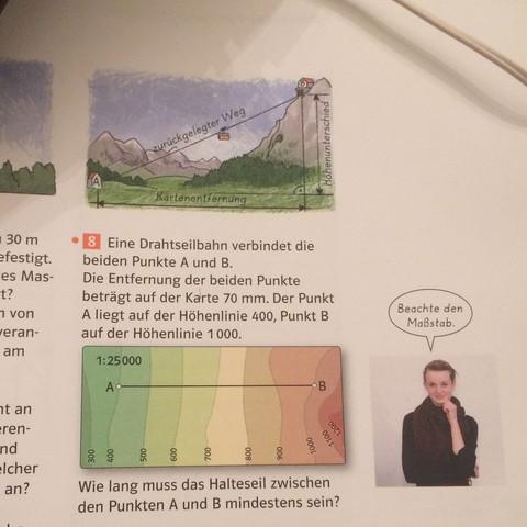 Die Aufgabe  - (Mathematik, Hausaufgaben, Satz des Pythagoras)