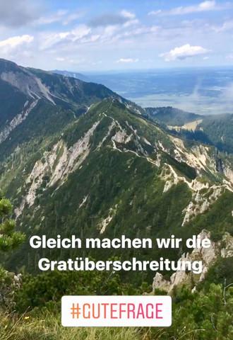 Gratüberschreitung Heimgarten  - (Bayern, wandern, Berge)