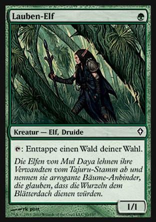 Lauben-Elf - (Magic the Gathering, MTG, Einsatzverzögerung)
