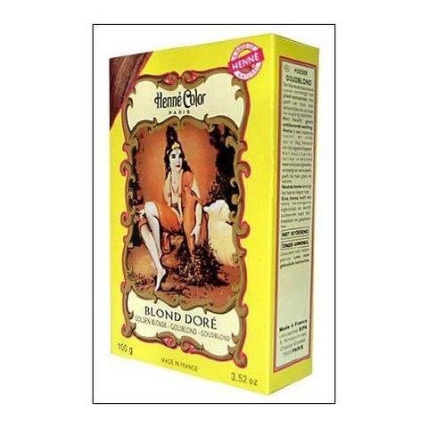 Wie lange hält Henne Color, Henna Pulver, Goldblond (Blond Dore), 100 gr, 3348070140064?