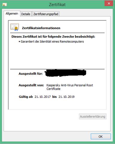 Wie Lange Ist Das Ssl Zertifikat Gültig Computer Webserver Ssl