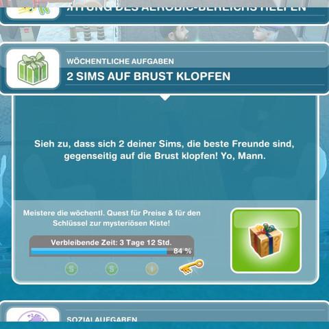 quest von sim  - (iPhone, iOS, Sims)