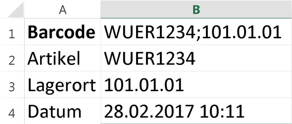 Tabelle - (Excel, Code, Formel)
