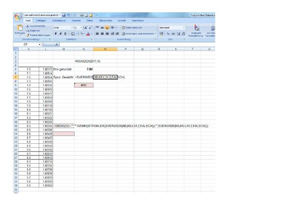 meine Ausgangslage - (Excel, Sverweis)