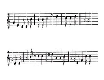 Strophen - (Musiknoten, Noten lesen)