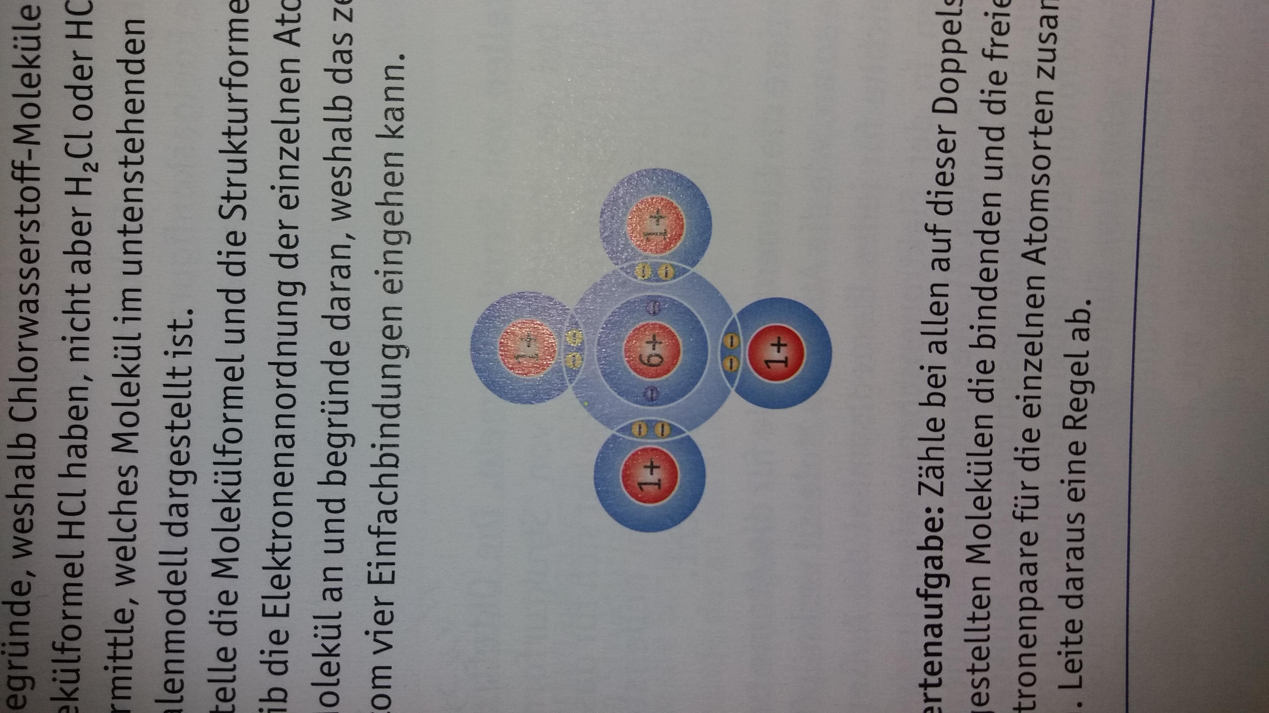 Wie lautet die Molekülformel und die strukturformel für ( bild ...