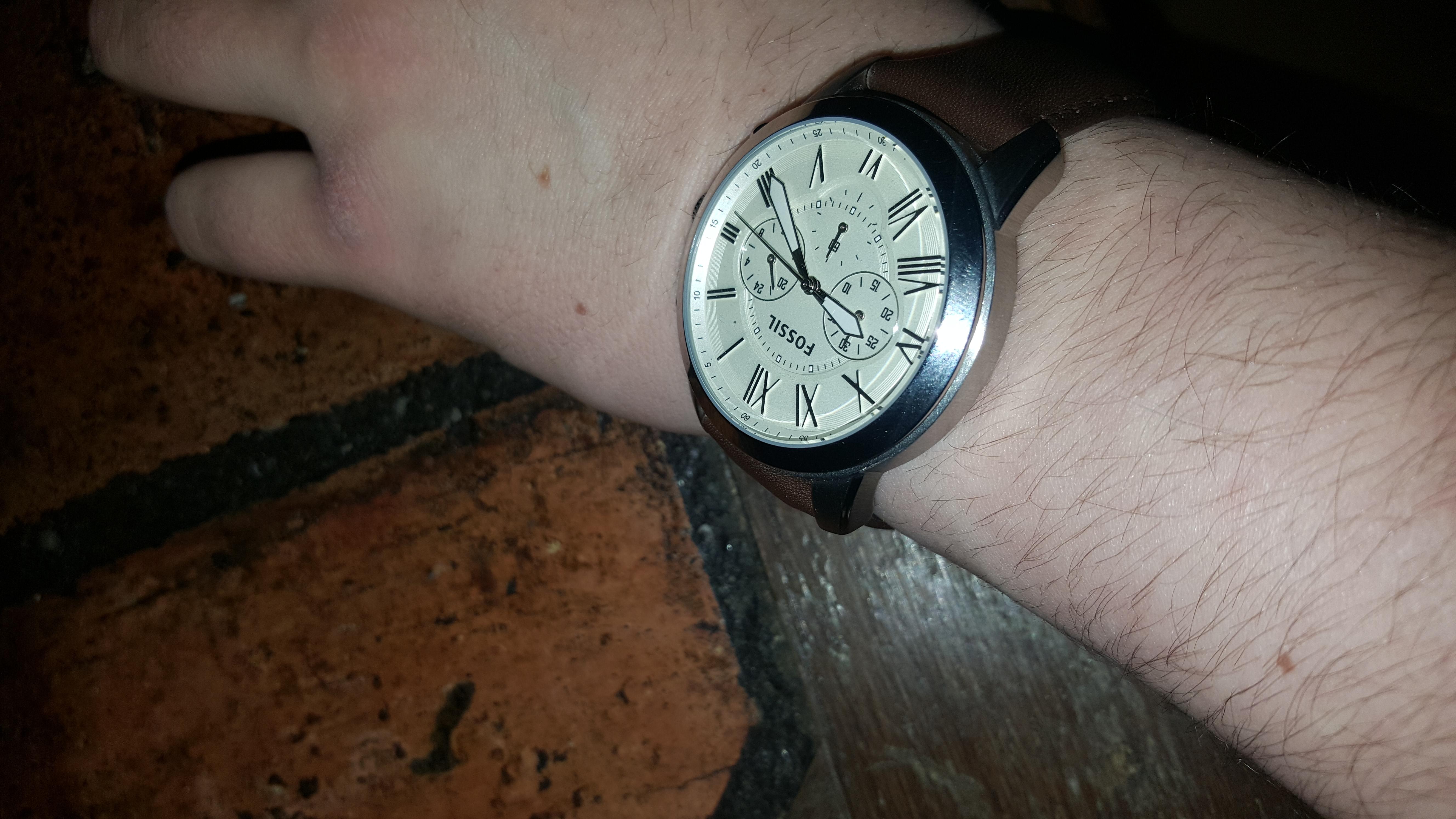 Wie locker tragt ihr eure Uhr? (Handgelenk, Tragen)