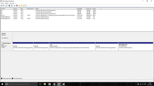 Datenträgerverwaltung - (Computer, PC, Notebook)