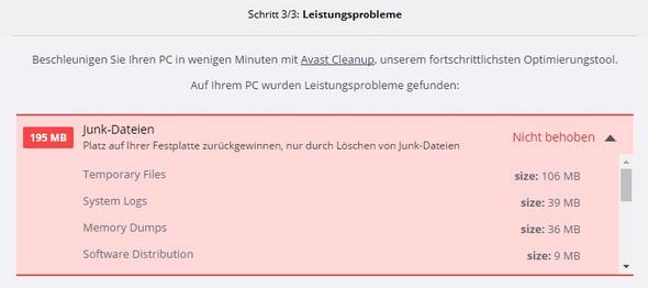 Wie lösche ich Junk Dateien bei Windows 10?