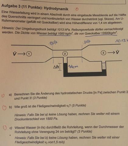 - (Schule, Physik, Hydrodynamik)