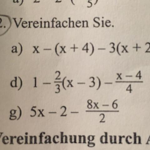 1d)      - (Mathe, Mathematik)
