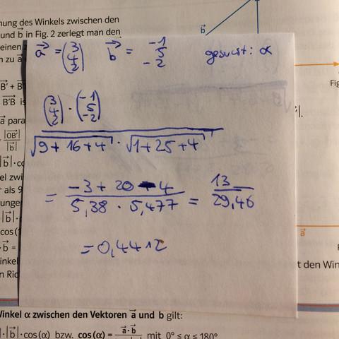 Hier... - (Mathe, vektoren, mathemat)