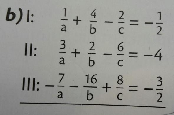 Bestimme die Definitionsmenge und löse die Gleichungssysteme durch Substitution! - (Schule, Mathe, Mathematik)