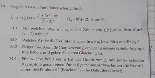 Wie löse ich diese Matheaufgaben (Klasse 11)?