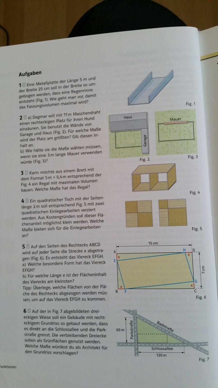 wie l se ich diese optimierungsaufgabe richtig schule mathe. Black Bedroom Furniture Sets. Home Design Ideas