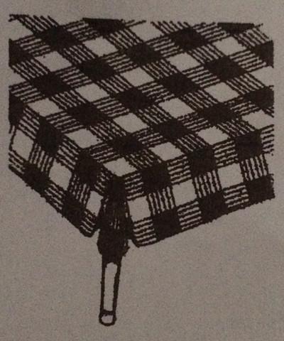 So ist das Muster der Zischdecke  - (Mathematik, Rätsel)