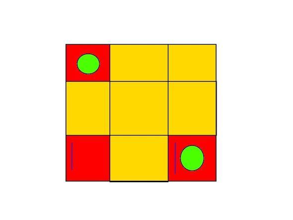 Zauberwürfel von oben - (Freizeit, Spiele, Lösung)