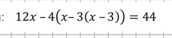 Wie (löst) man die Gleichung?