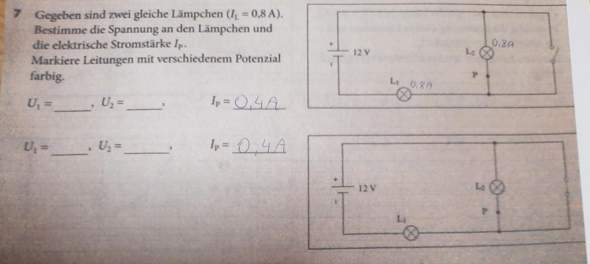 Wie löst man die Physikaufgabe?