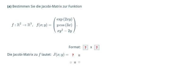 Wie löst man diese Matheaufgabe(Matrix)?