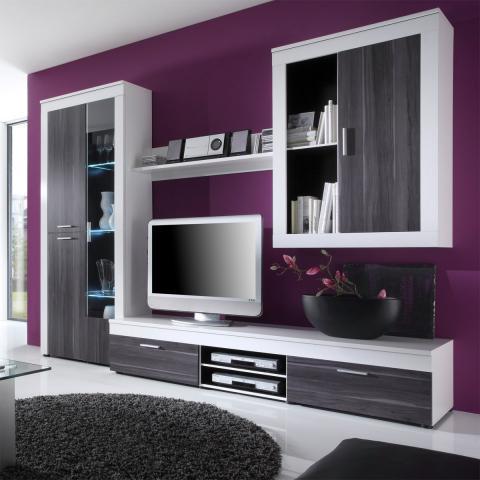 Perfect Wohnzimmer Farbe Farbe Ideen Mbelideen Streifen Modern Dekoo With Wohnzimmer  Farben Ideen