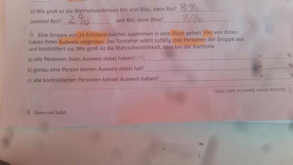 Baumdiagramm frage - (Mathe, Realschule)