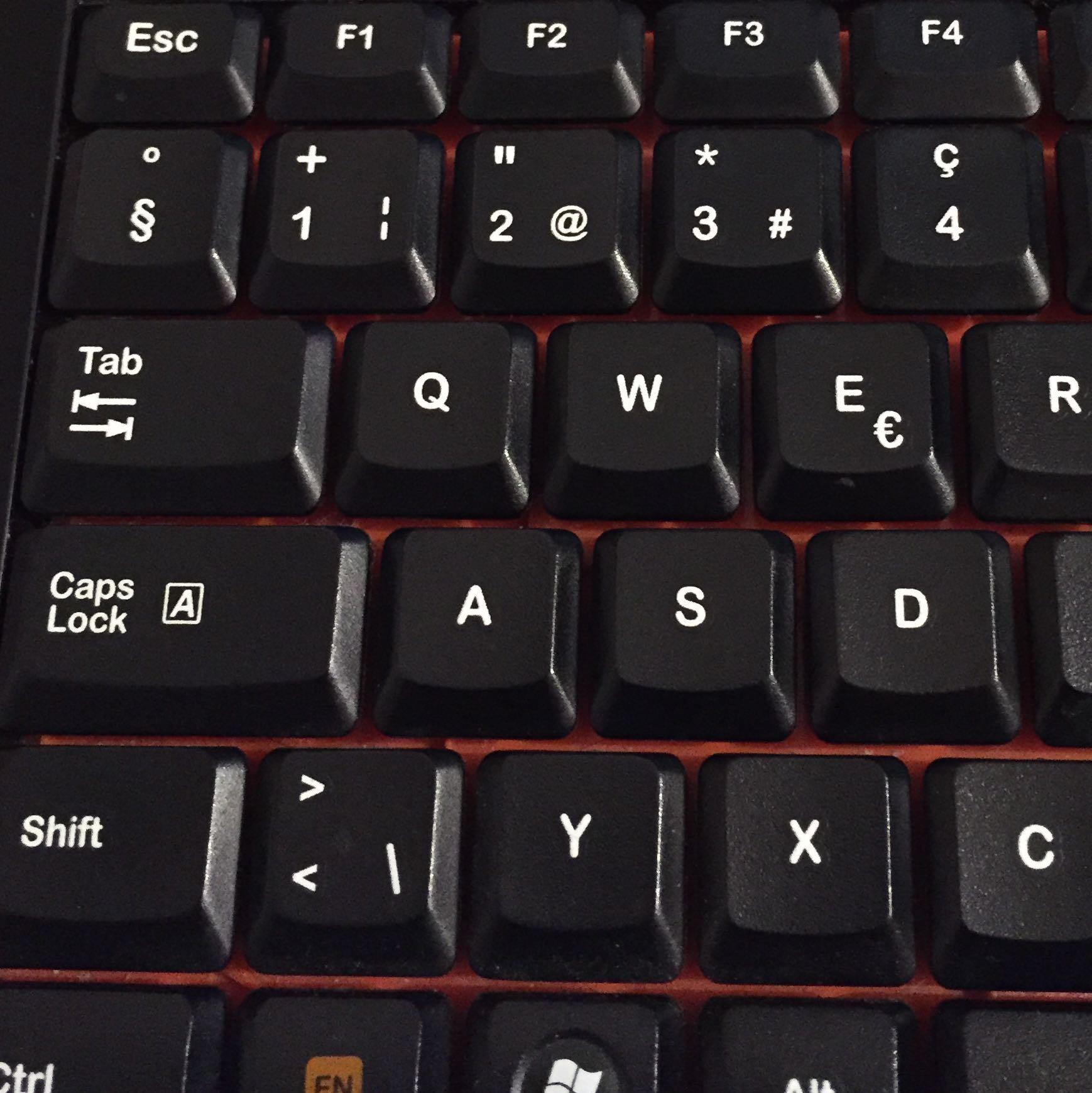 Wie mache ich einen Paragraph auf meiner Tastatur? (Minecraft)