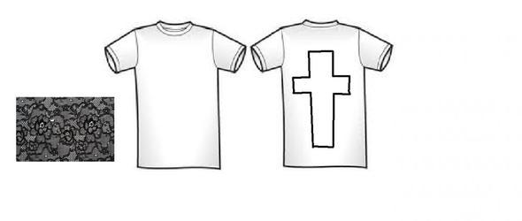 so stelle ich es mir vor  - (T-Shirt, nähen, Nähmaschine)