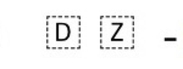 Buchstaben umrandet - (Technik, App, Zeichen)