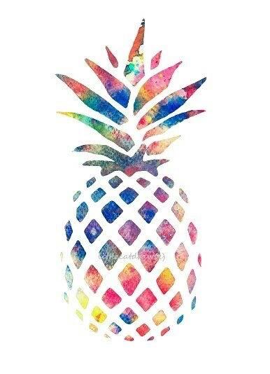 wie malt gestaltet man so ein ananas bild art designen. Black Bedroom Furniture Sets. Home Design Ideas