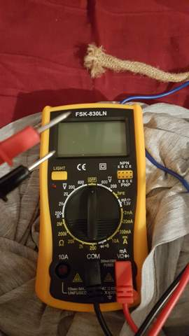 Wie messe ich, ob etwas unter Strom steht?