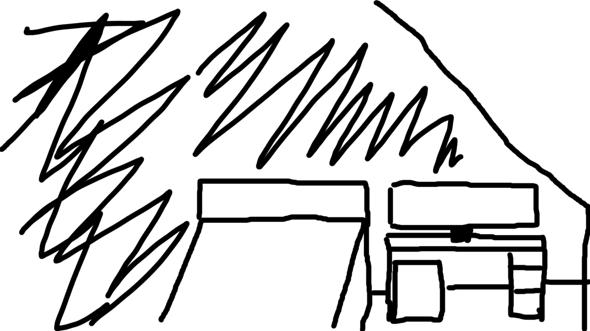 Wie Mikrofonarm aufbauen (Schreibtisch, wenig Platz)?