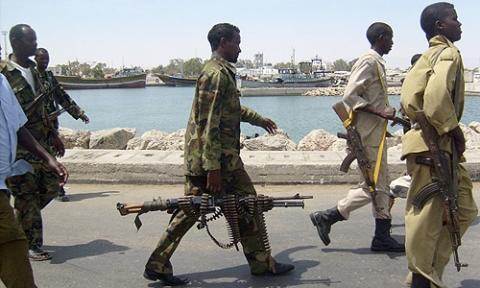 Bilduntertitel eingeben... - (Krise, Piraten, Somalia)