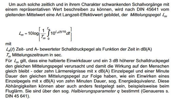 Formel - (Mathematik, Physik, Akustik)