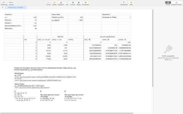 Meine bisherige Arbeit - (Mathe, Physik, Mac)