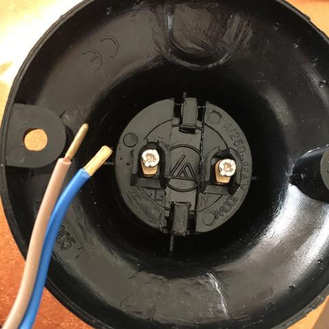 Lampe im Kellerraum neu verkabeln? (Strom, Verkabelung, Lampe ...
