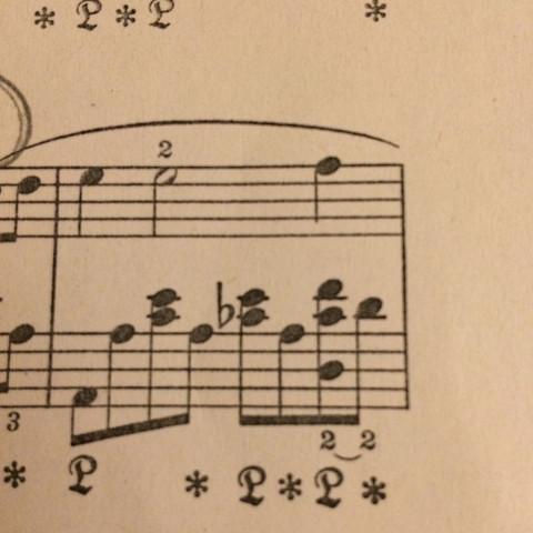 Der Takt den Ich meine. - (Klavier, Piano, Fingersatz)