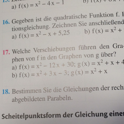 Nr. 17 - (Mathe, Mathematik, Funktion)