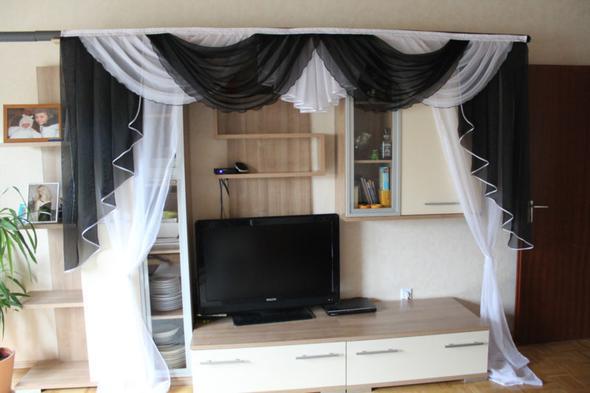 wie n he ich selber einen gardinenbogen n hen gardinen. Black Bedroom Furniture Sets. Home Design Ideas